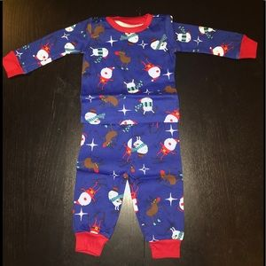 Children's Place Pajama Top & Bottom Size 0-3M
